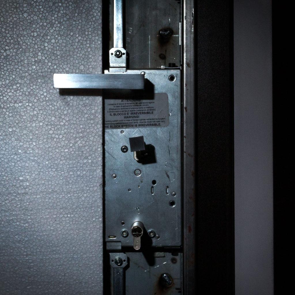 serratura porta blindata