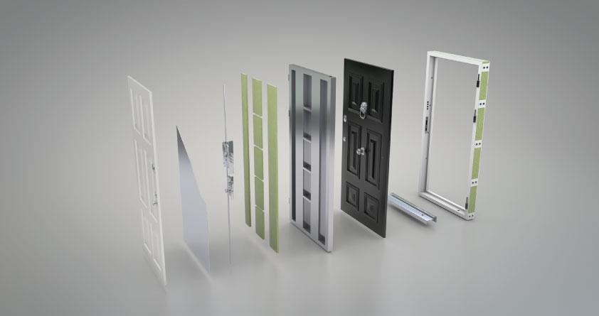 Porte Blindate Come Sono Fatte E Quali Sono Le 7 Parti