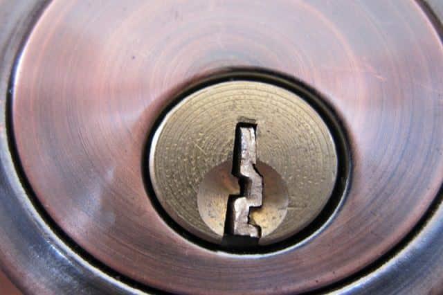 chiave rotta nella serratura