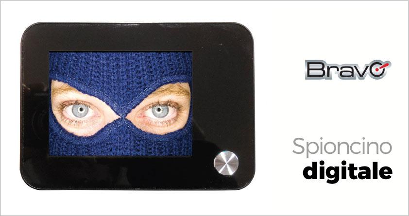Spioncino digitale bravo sottocchio recensione opinioni for Spioncino elettronico per porte blindate