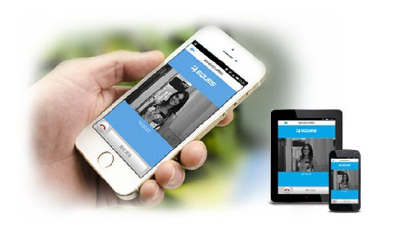 Spioncino digitale wifi Eques R22
