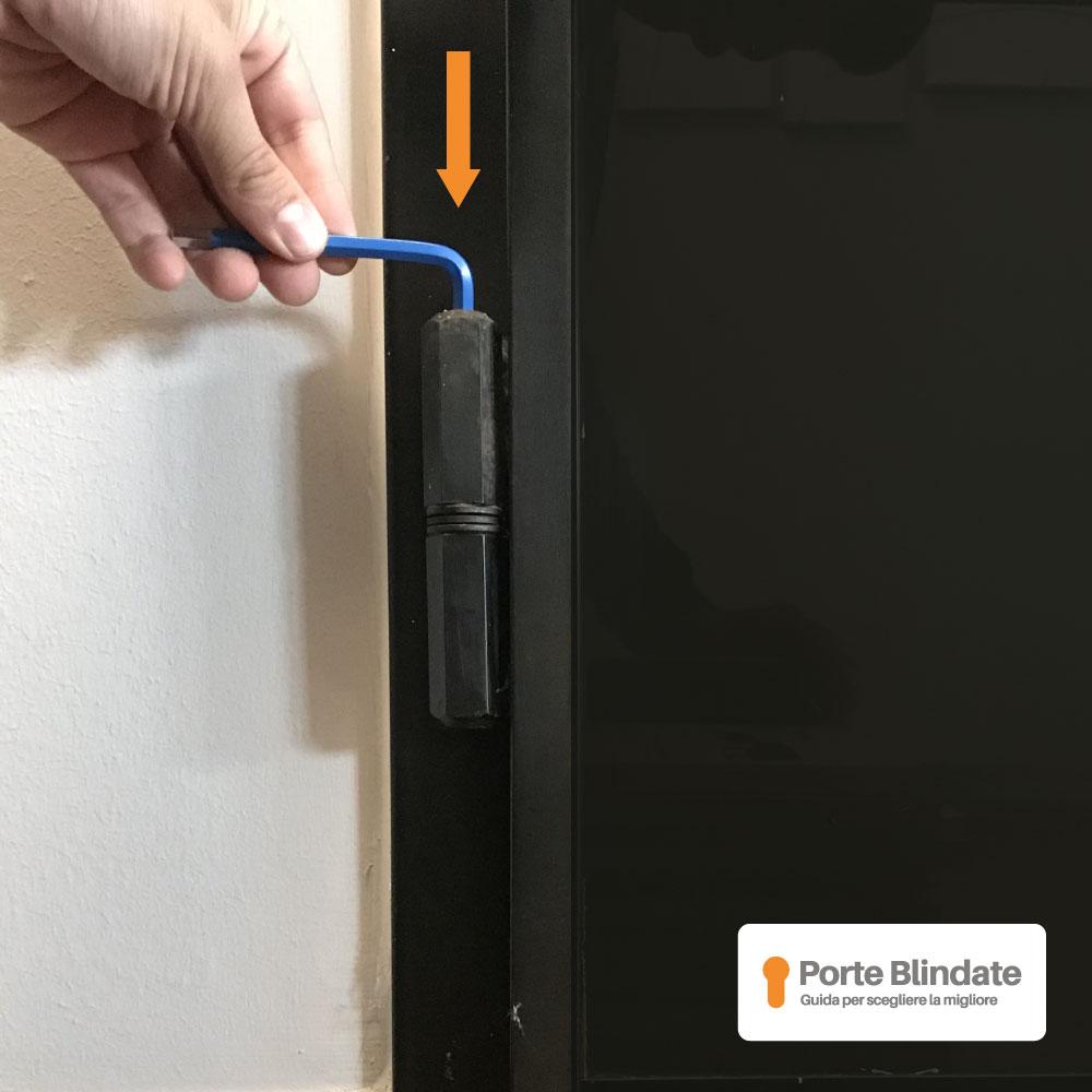 Regolazione Porta Blindata