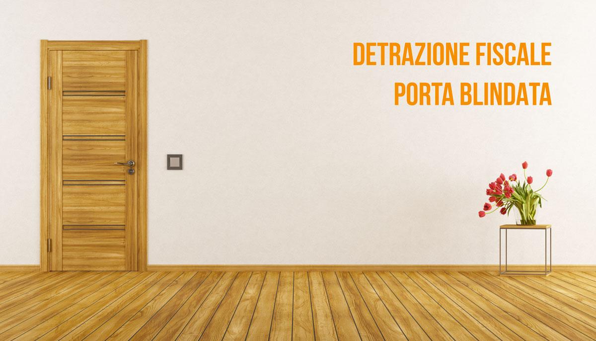 porta blindata detrazione