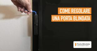 Regolazione Porta Blindata: Come Registrare la Porta Blindata (Passo-passo)