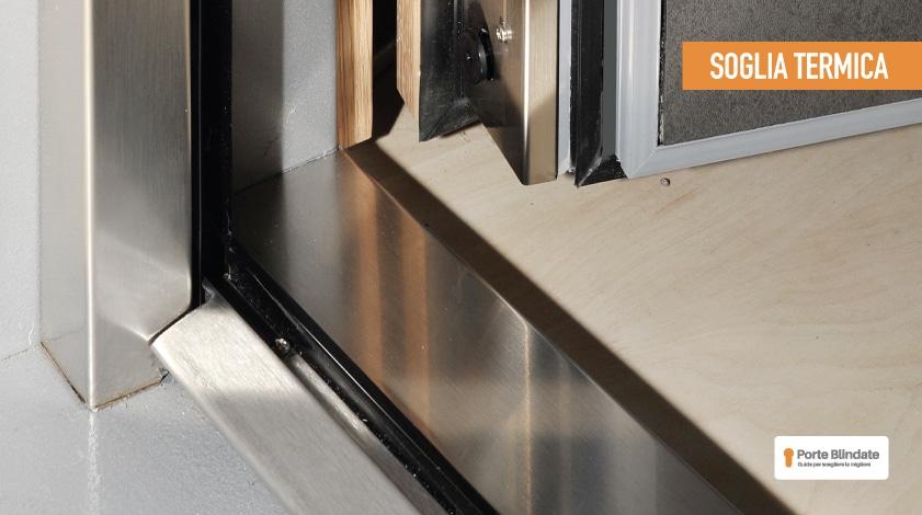 telaio porta blindata taglio termico